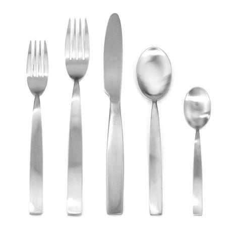 Mediterranea Cutlery // 5 Piece Set (Glossy Stainless)