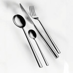 Movida Cutlery // 20 Piece Set // Glossy Stainless