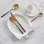 Linea Cutlery // 20 Piece Set (Glossy Stainless)
