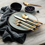 Stile Cutlery // 5 Piece Set (Glossy Stainless)