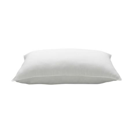 Soft Plush Allergy-Resistant Gel Fiber Stomach Sleeper Pillow (Standard)