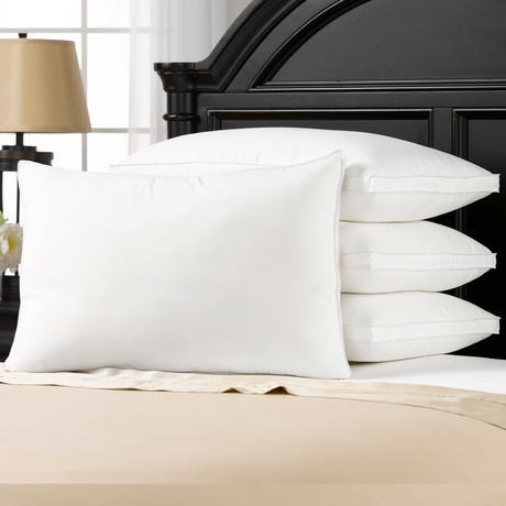 Overstuffed Plush Side/Back Sleeper Pillow // Set of 4 (Standard)