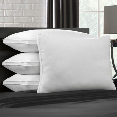 Soft Luxury Plush Stomach Sleeper Pillow // Set of 4 (Standard)