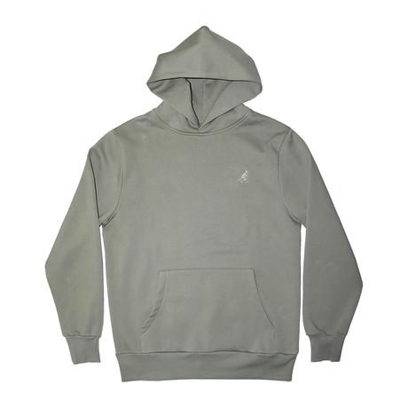 Plush Fleece Hoodie // Rugged Drab (S)