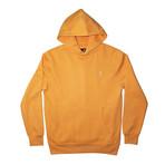 Plush Fleece Hoodie // Orange Melon (S)