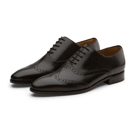 Wingtip Oxford // Black Leather (US: 7)