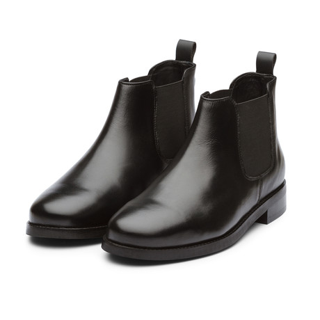 Chelsea Boot // Black Leather (US: 7)