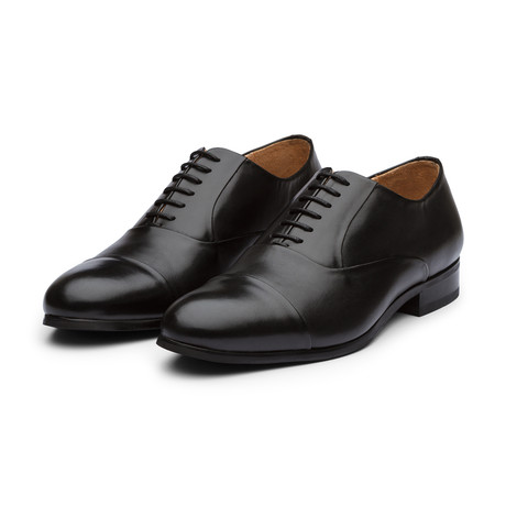 Captoe Oxford // Black (US: 7)