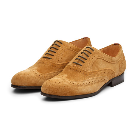 Wingtip Oxford // Camel Suede (US: 7)