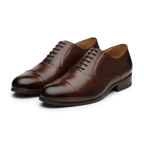 Captoe Oxford // Dark Brown (US: 7)
