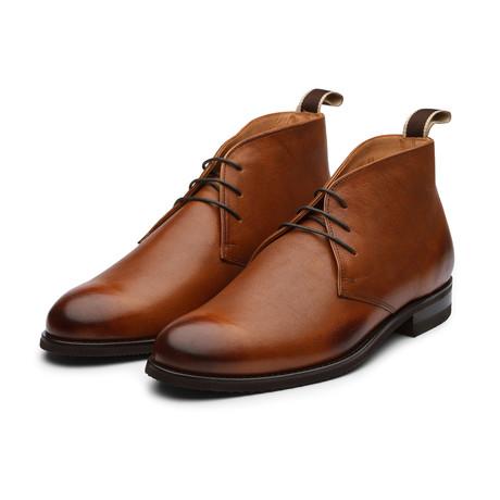 Buff Milled Leather Chukka Boot // Cedar (US: 7)