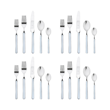 Fantasia Cutlery // 20 Piece Set (Light Blue)