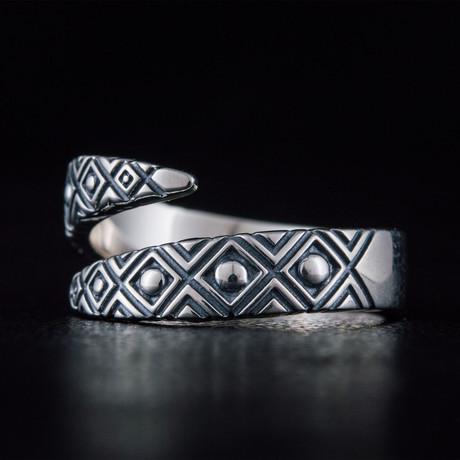 Geometric Snake Style Ring (6)