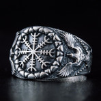 Helm Of Awe Raven Style Ring (9)