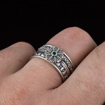 Helm Of Awe CZ Viking Ring (6)