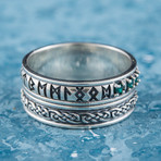 Runes Ornament Ring (11.5)