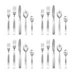 Mediterranea Cutlery // 20 Piece Set (Glossy Stainless)