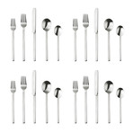 Stile Cutlery // 20 Piece Set (Glossy Stainless)