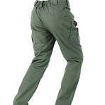 Crestone Trousers // Army Green (L)