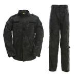Jacket + Trousers Set // Snake Print + Black (M)