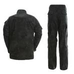 Jacket + Trousers Set // Snake Print + Black (XL)