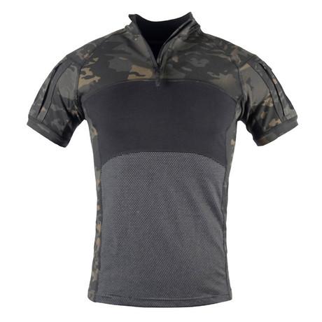 Short Sleeve T-Shirt // Camouflage Print + Black (XS)