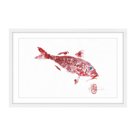 "Red Mullet (12""W x 8""H x 1.5""D)"
