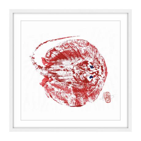 "Stingray Red (12""H x 12""W x 1.5""D)"