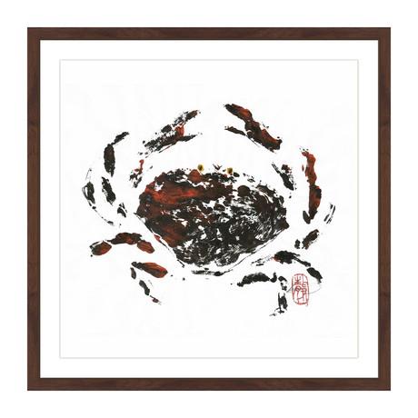 "Hidden Crab (12""H x 12""W x 1.5""D)"