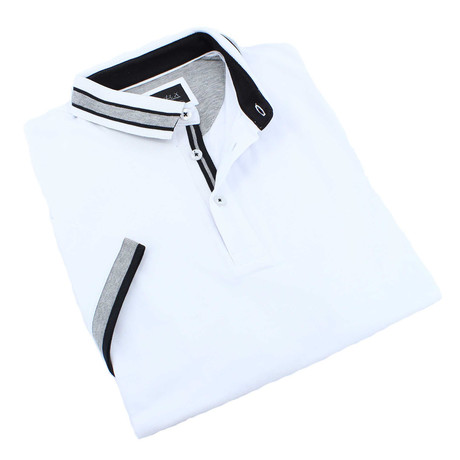 Denton Polo // White (XS)