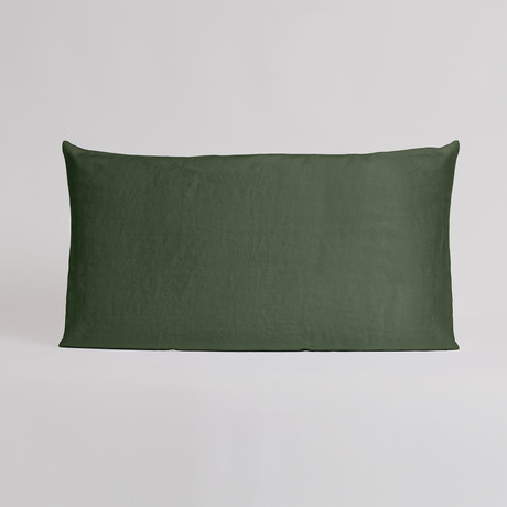 Ariziona Coppia Federe // Pillow Case // Set Of 2 (Bordeaux)