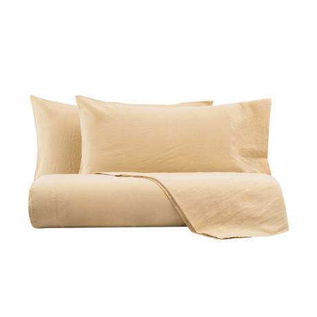 Arizona Parure Sacco Matrim // Duvet Cover + 2 Pillowcases (Bordeaux)