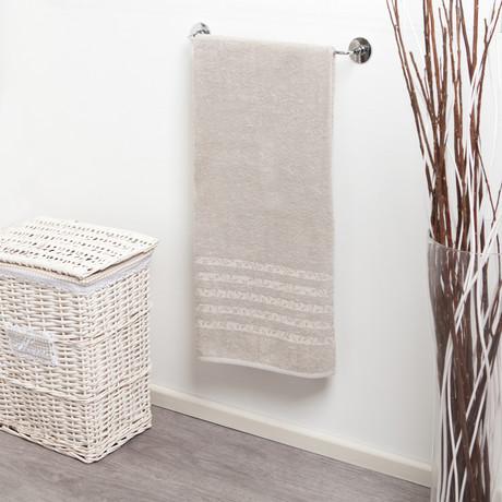 Telo Aqua // Bath Towel (Dove Gray)