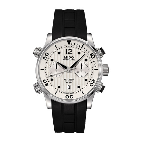 MIDO Multifort Chronograph Automatic // M005.914.17.030.00 // New