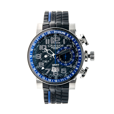 Graham Silverstone Stowe Big Date GMT Chronograph Automatic // 2BLCH.B30A // Store Display
