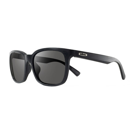 Slater S Polarized Sunglasses (Matte Black Frame + Graphite Lens)