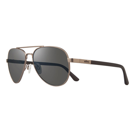 Raconteur S Polarized Sunglasses (Gunmetal Frame + Blue Water Lens)
