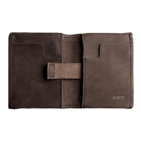 Slim Bifold Wallet // Brown