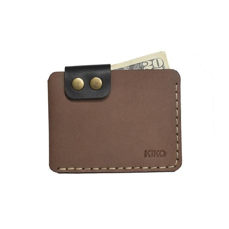 Card Wallet // Brown