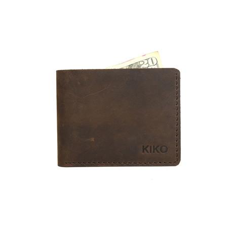 Step Up Wallet // Brown