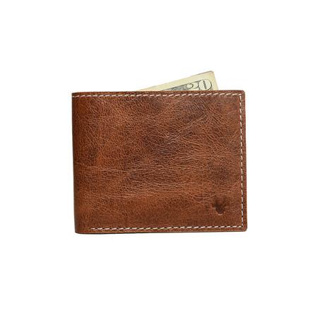 X Bifold Wallet // Brown