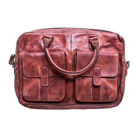 Commuter Briefcase // Brown