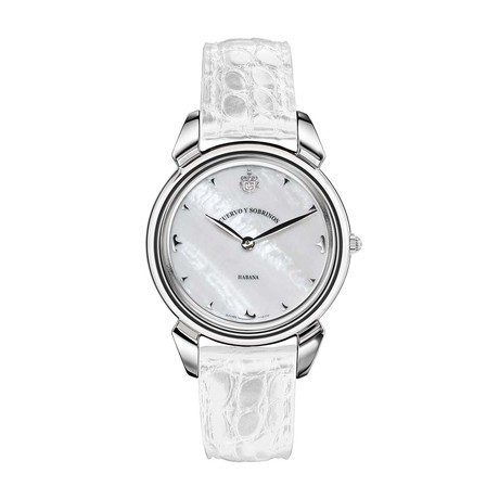 Cuervo y Sobrinos Ladies Quartz // 3112.1MA