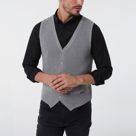 Ithan Vest // Gray (S)