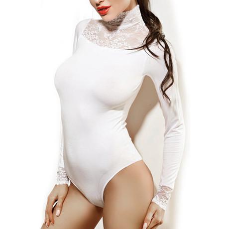 Moments Bodysuit // White (S)