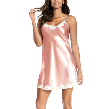 Loris Nightdress // Salmon Pink (S)