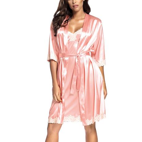 Loris Robe // Salmon Pink (S)