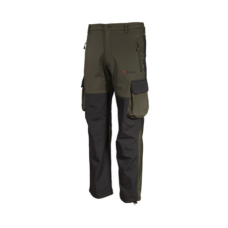 Two Tone Cargo Pants // Green (S)
