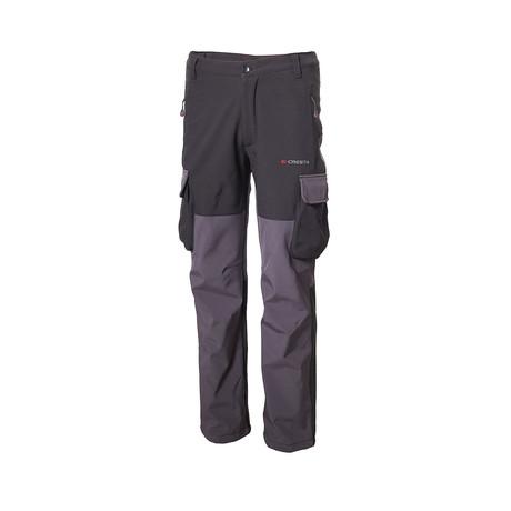 Two Tone Cargo Pants // Black (S)