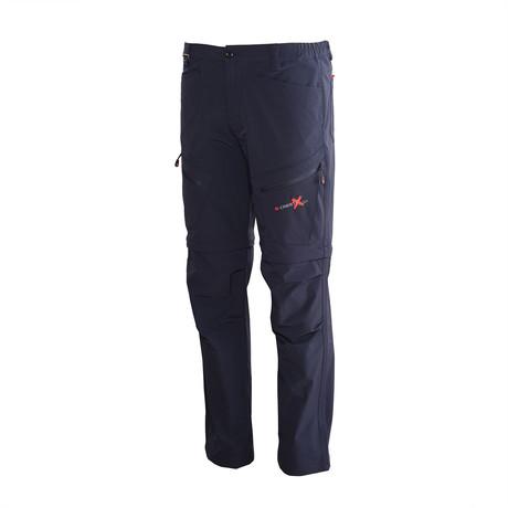 Zip Off Utility Pants // Dark Blue (S)